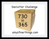 Declutter Challenge: Cutting Clutter 2 Things at a Time