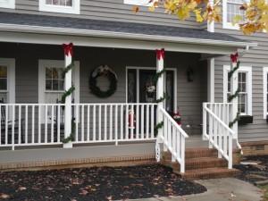 Repurposed Garland and large wreath