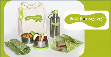 Kids Konserve Waste Free Lunch Kit Only $18