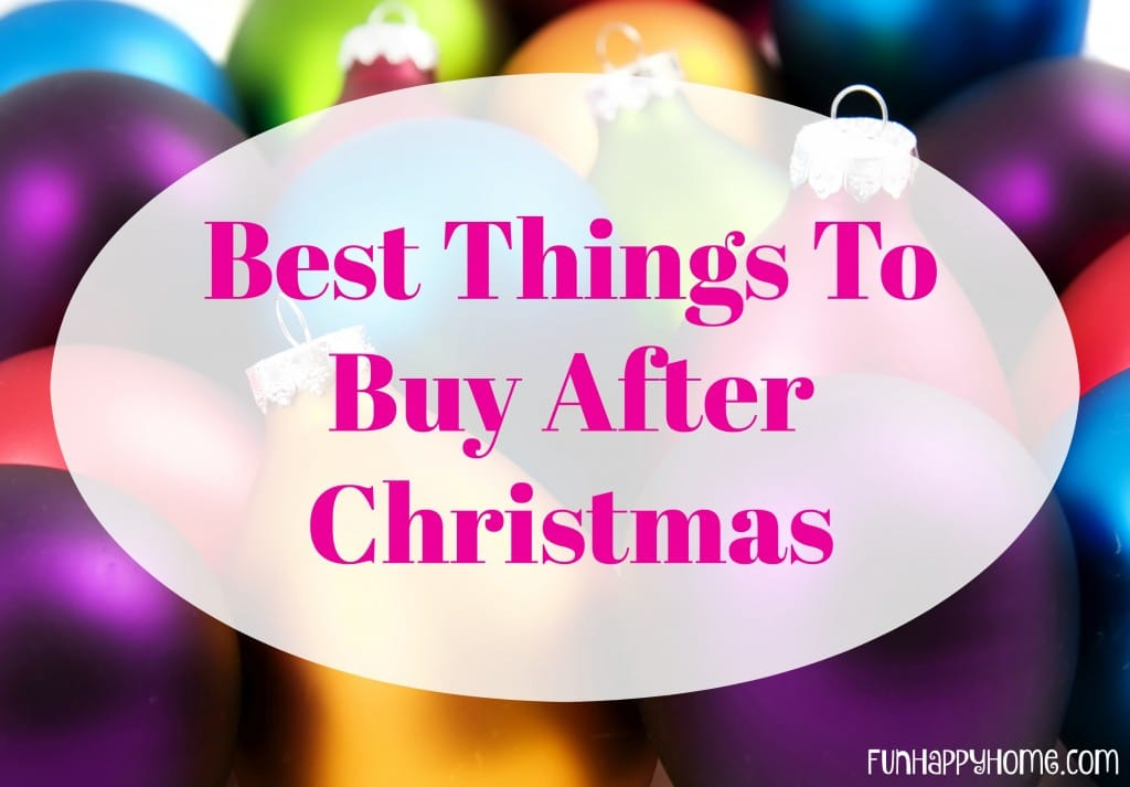 Best Things To Buy After Christmas