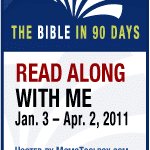 I'm Reading Through The Bible in 90 Days…Wanna Join Me?