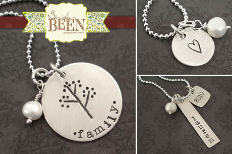 Discount Hand Stamped Jewelry
