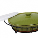 Casserole Dish, Wire Serving Basket and 2 Lids Only $11 Shipped