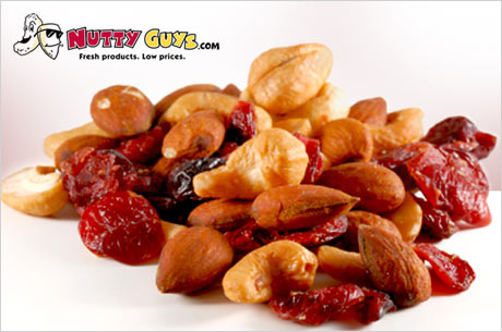 $20 of Nutty Snacks from NuttyGuys.com for $8