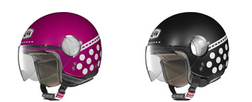 Sporty Girly Motorcycle Helmets