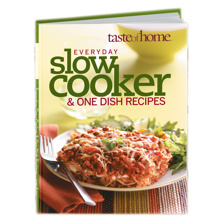 Taste of Home $5 Cookbook Sale
