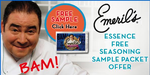 Free Emeril's Essence Seasoning Sample Packet