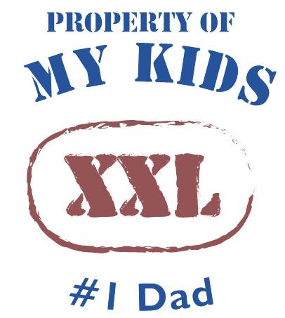 Property of My Kids Free Vistaprint Tee shirt