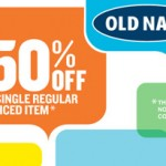 Old Navy 50% Off Printable Coupon