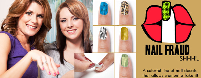 $12 for $24 Worth of Fun Nail Decals from NailFraud.com