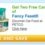 Free Fancy Feast Cat Food at Petco this Weekend *Print Your Coupon Now*