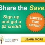 Free $5 Eversave Credit for New Members