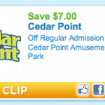 Cedar Point Printable Coupon