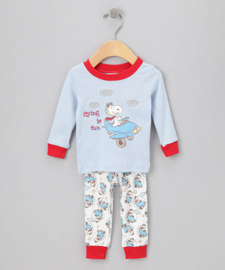 Vintage Snoopy Sleepwear Sale at Zulily