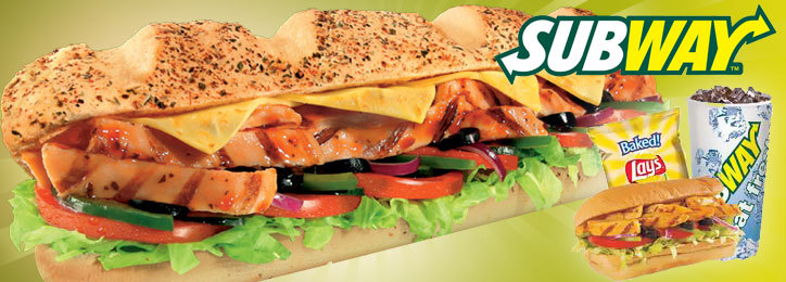 $10 Subway Gift Card for $6.50