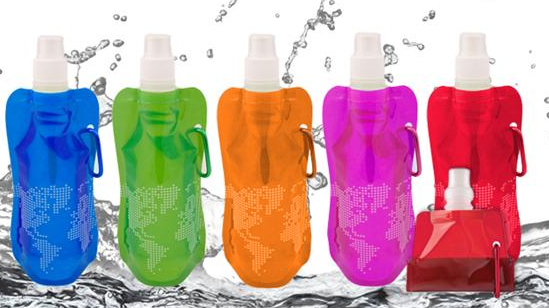 SaveMore: Collapsible BPA Free Water Bottles 50% off (FREE for New Members)