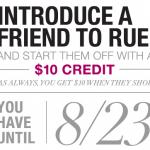 Free RueLaLa $10 Credit PLUS Vera Bradley Stationery at RueLaLa Tomorrow