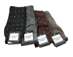 12 Pairs of Men's Dress Socks for $9.99 Shipped