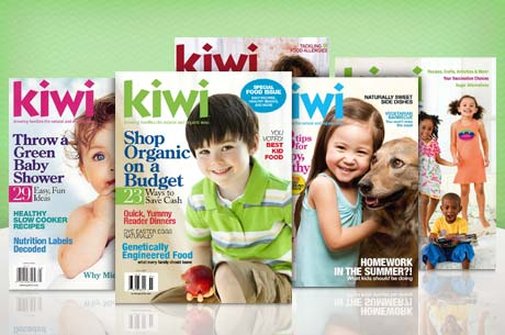 Kiwi Magazine: 1 Year for $6, 2 Years for $10