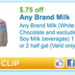 Milk Coupon for Utah & Idaho