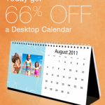 Walgreens: 66% Off Photo Desktop Calendars