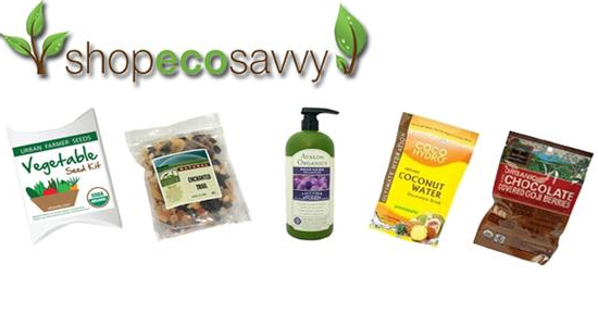 50% off Organic Products from ShopEcoSavvy
