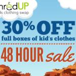 thredUP Sale: 30% Off PreLoved Kids & Baby Gear