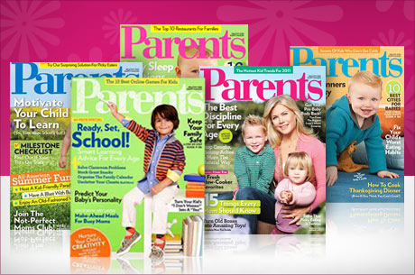Parents Magazine 2 Year Subscription for $5