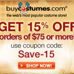 Halloween Costumes with Free Shipping Plus up to 10% Cashback