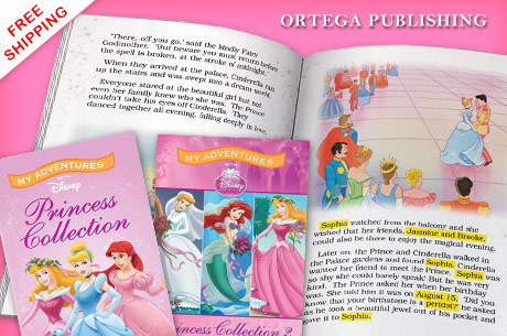 Disney Personalized Books