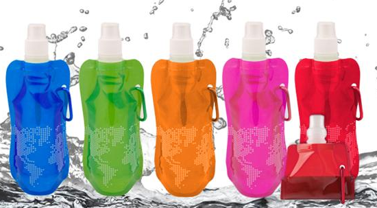 Free Collapsible Reusable Water Bottles
