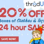 ThredUp: 20% Off All Boxes for 24 Hours
