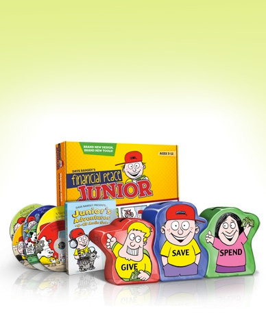 Dave Ramsey Kids Money Education Monster Pack for $48