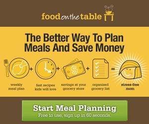 Food on the Table: Free Menu Planning Service for Life