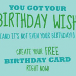 Free Personalized Card from Cardstore.com