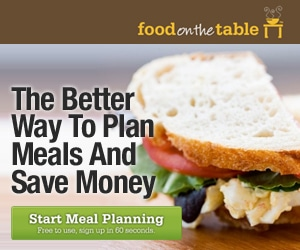 Free Menu Planning for Life from Food on the Table