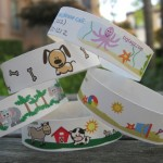 36 Pack of Kids ID Wristbands for $15