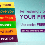 Free Mother's Day Card or Unlimited Personalized Cards for $.99 Each