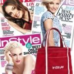 1 Year InStyle Magazine Subscription PLUS Bonus Tote Bag for $20