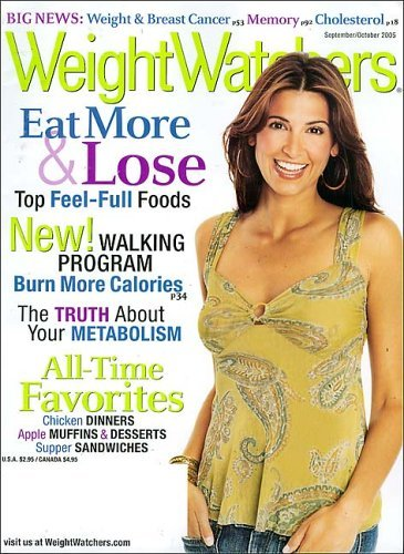 Weight Watchers Magazine $4.50 Per Year