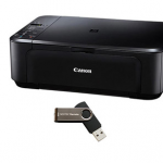 Canon PIXMA Inkjet Photo All-In-One Printer/Copier/Scanner PLUS a 4GB USB Flash Drive Only $29.99