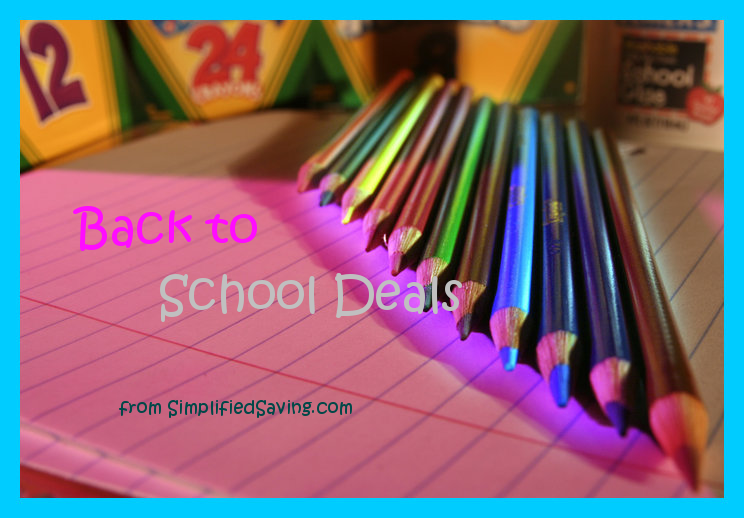 Back to School Deals: week of August 27th