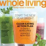 Whole Living Magazine $3.99 Per Year