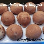 Homemade Corndog Nuggets