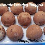 Homemade Corndog Nuggets