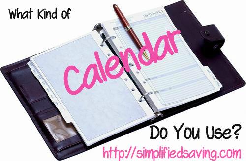 what kind of calendar should I use