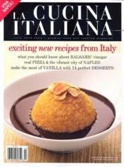 La Cucina Italiana Only $.72 Per Issue