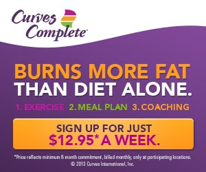 Try Curves Complete: Exercise, Meal Plans, and Coaching
