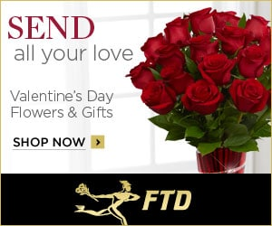 Send Flowers for Valentine's Day