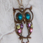 Vintage Owl Pendant Only $1.13 Shipped